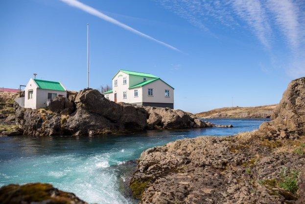 Brúarfoss - fishing camp