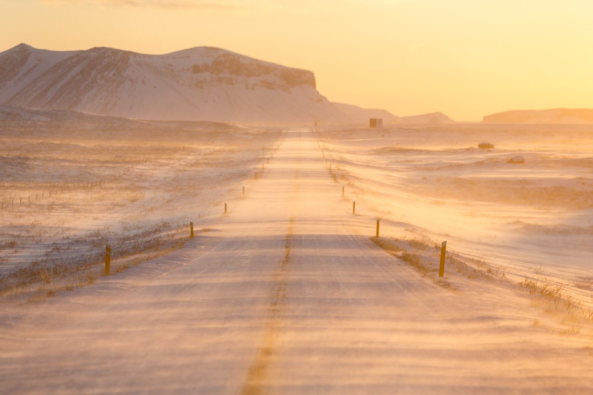 Photos: Winter Roads Of Southern Iceland