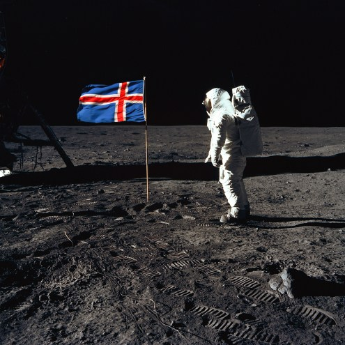 Was Literature's First Man On The Moon An Icelandic Peasant?