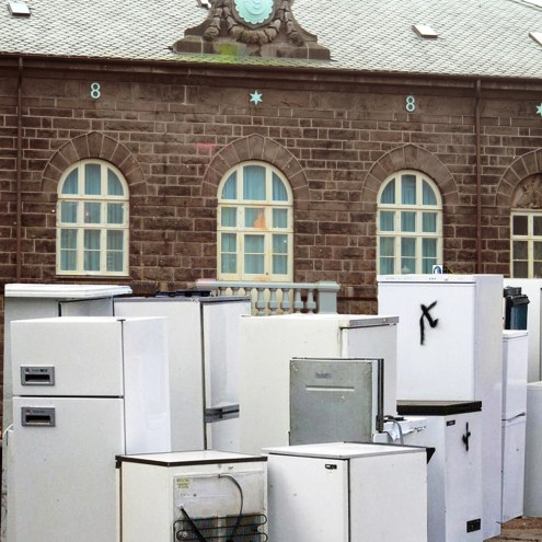 The Poor Donate Second Hand Domestic Appliances To The Rich
