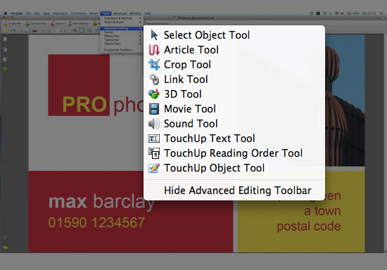 Adobe Convert Image To Text You Can Edit Pdf Documents In Acrobat But Only In Acrobat