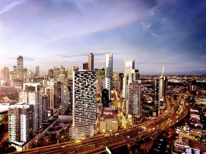 3d Visualisation - Haig Street Melbourne, CBD