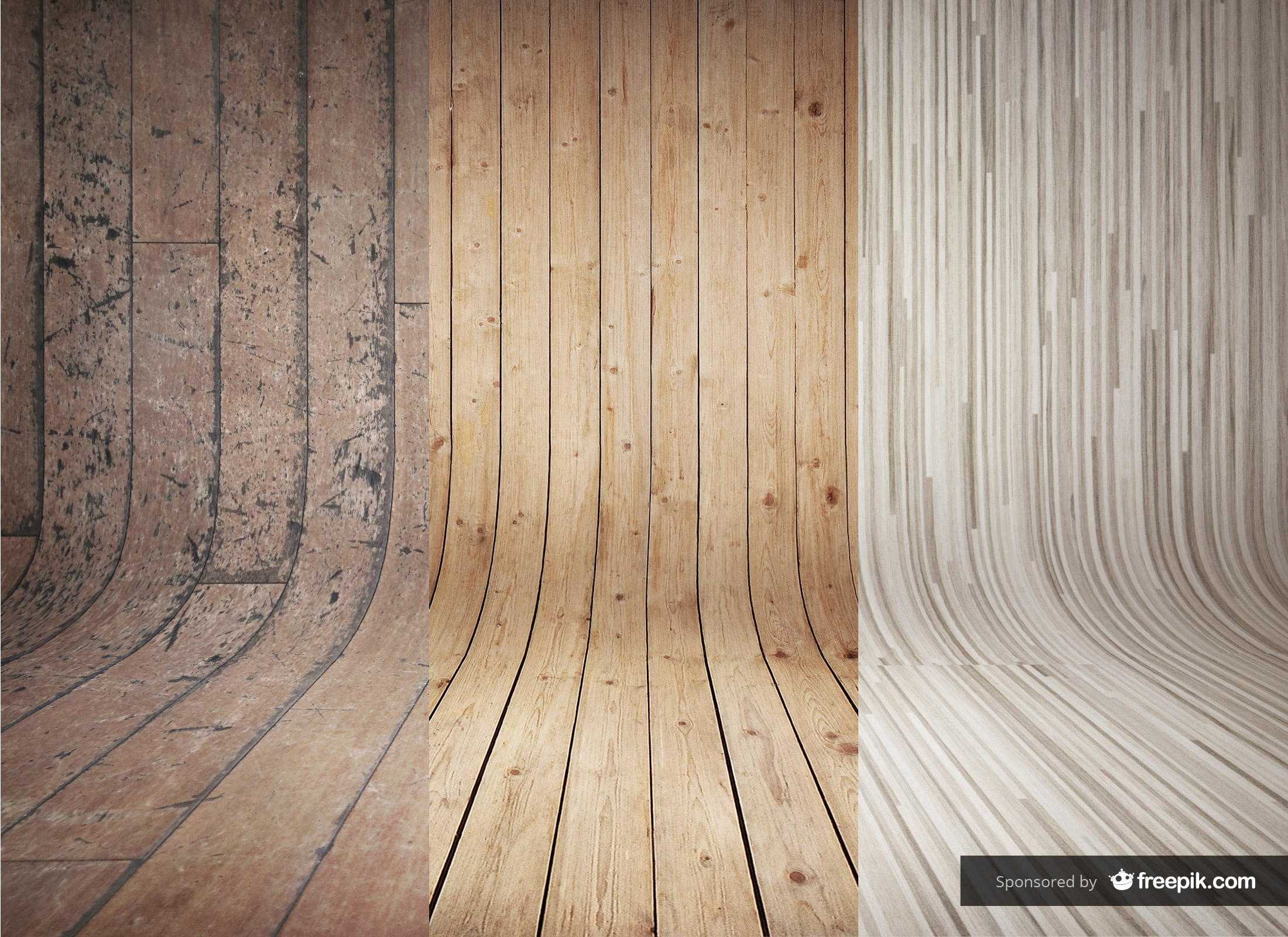 Ios 11 Wallpaper Hd Download 3 Curved Wooden Backdrops Vol 2 Graphicburger
