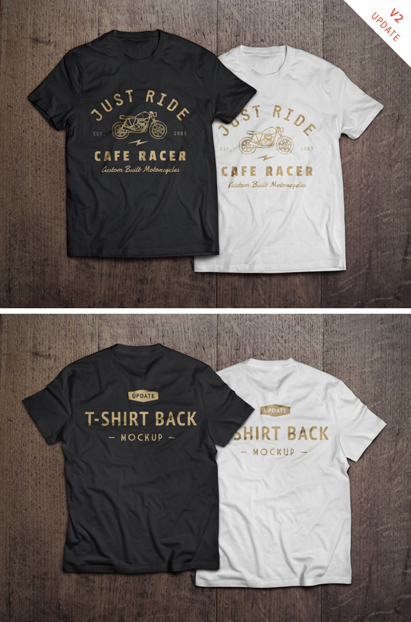 T-Shirt MockUp PSD GraphicBurger