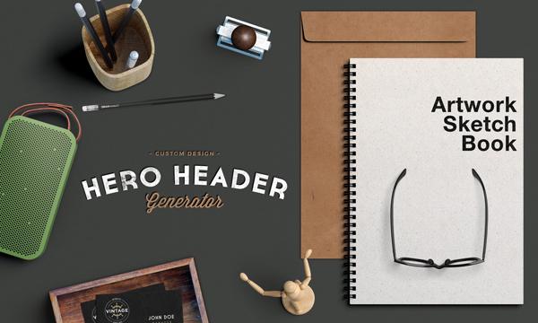 Free Computer Fall Wallpaper Hero Header Scene Mockup Graphicburger