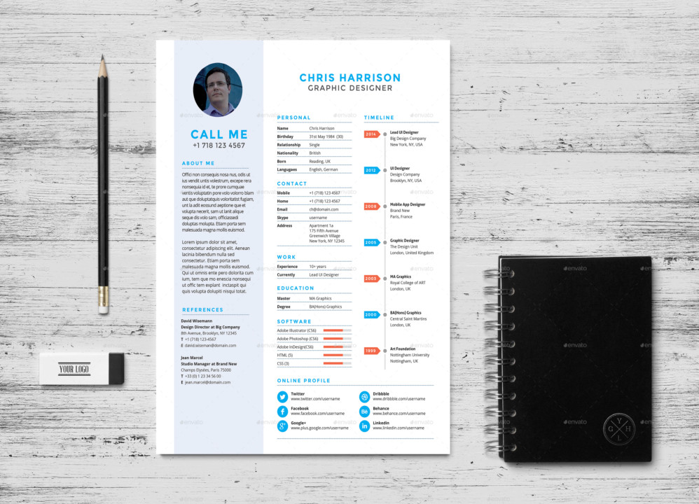 21+ Web Designer Resume Templates - InDesign, PSD, MS Word, AI