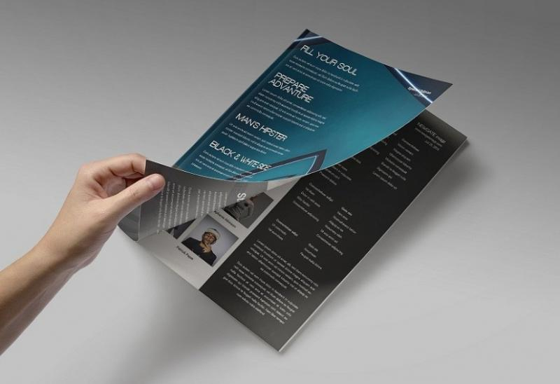 15+ Magazine Layout Template PSD for Designing Magazine - Graphic Cloud