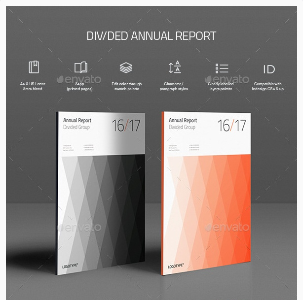 15+ Creative Report Templates - Graphic Cloud
