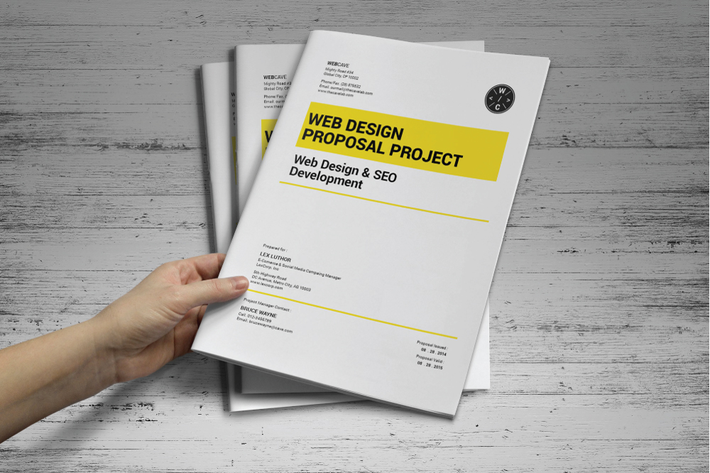 Seo Proposal Template Pdf Image Collections Template Design Free