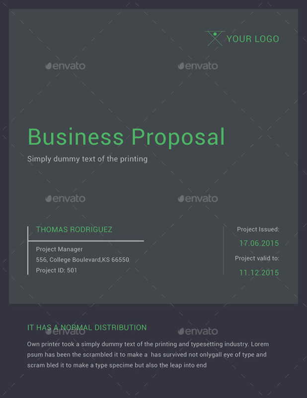 Real Estate Proposal Template Word, PSD, Ai and EPS Format - real estate proposal template