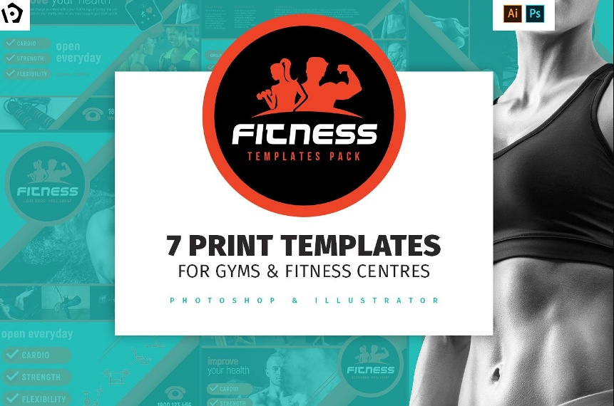 15+ Fitness Brochure Template Word, InDesign, EPS and PSD Format