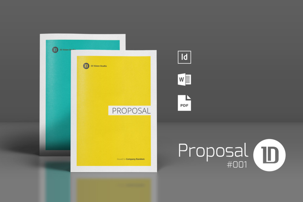 Real Estate Proposal Template Indesign Proposal\/Brochure Template - real estate proposal template