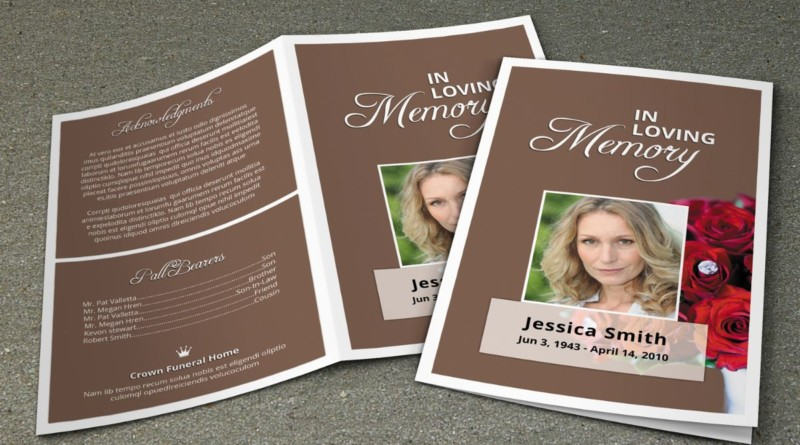 funeral brochure exles - 28 images - free funeral program templates