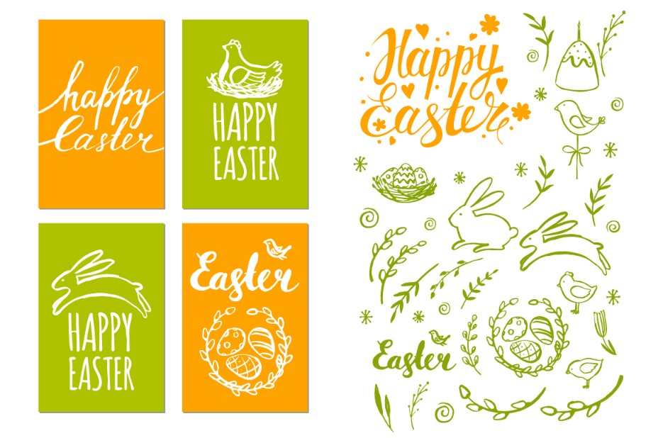 15+ Easter Card Template PSD, Ai and InDesign Format - Graphic Cloud
