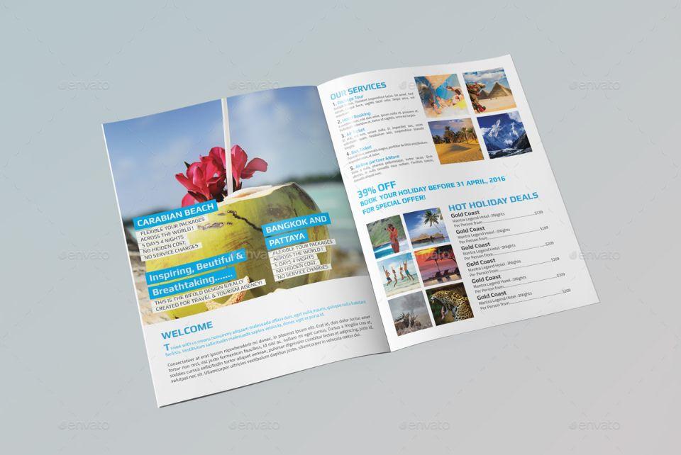 tourist pamphlet template - Pinarkubkireklamowe