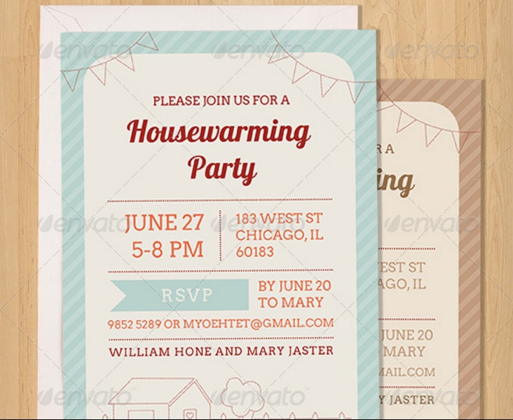 5+ Housewarming Invitation Template Word, InDesign and PSD Format