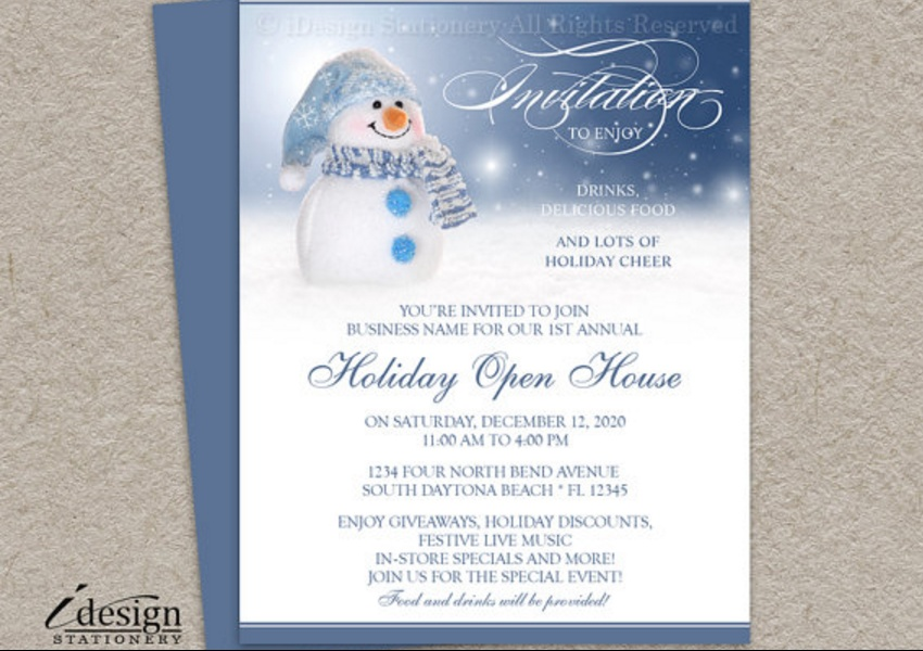 15+ Open House Invitation Template Word, PSD and InDesign Format