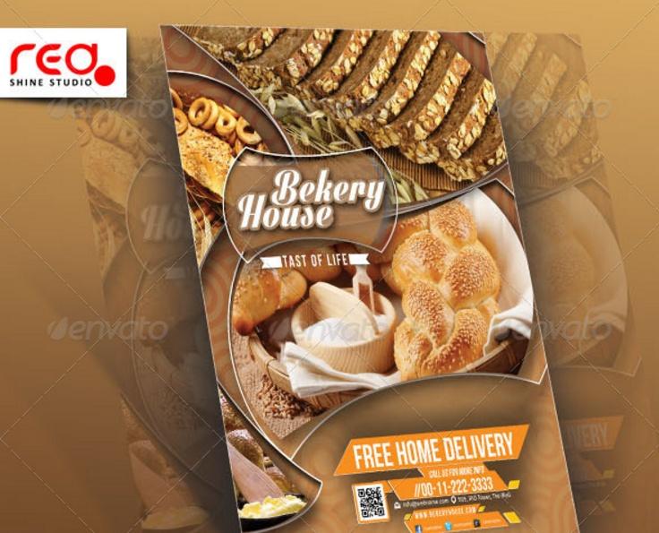 Bakery Flyer Oakandale