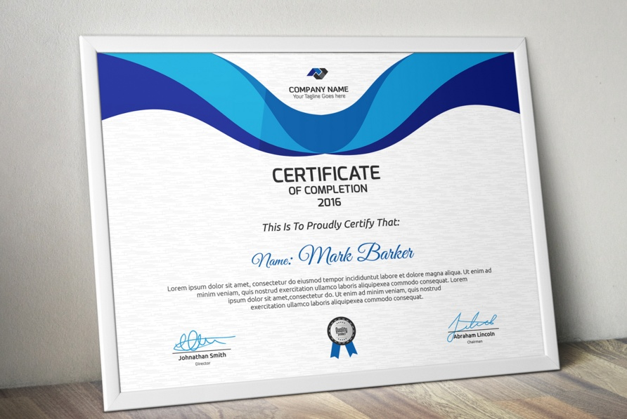 Corporate Certificate Template - mandegarinfo - corporate certificate template