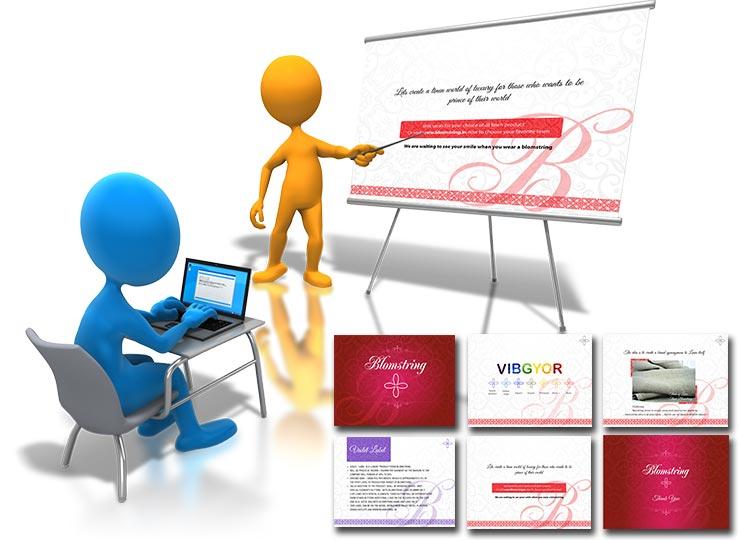 PPT Presentation Graphic Design Bengluru