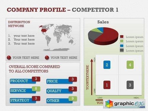 Company Profile PowerPoint Template » Free Download Vector Stock