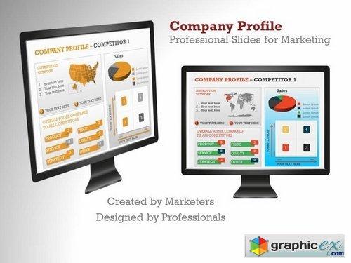 Company Profile Presentation Template Free Download \u2013 brettfranklin