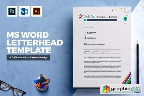 ms word letterhead templates free download - Pinarkubkireklamowe