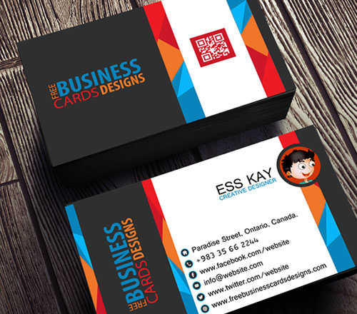 50+ Magnificent Free Business Cards Design Templates - business card template design