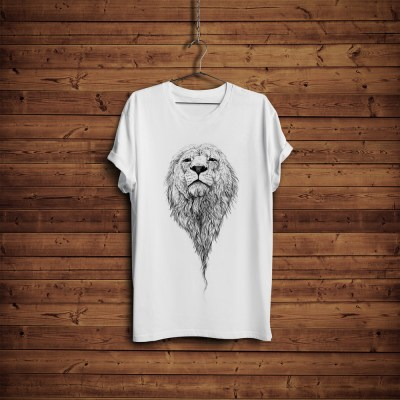 Free T-Shirt Mock-up with Hanger & Wooden BackgroundGraphic Google – Tasty Graphic Designs ...
