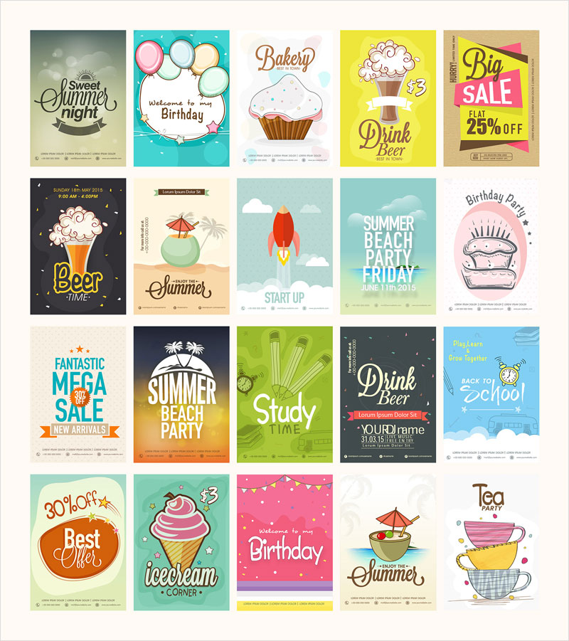 40 Extremely Professional Newest Flyer Templates 2017 - free printable flyer templates