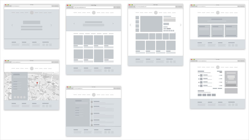 30 Free Mobile, UX  Web Wireframe Templates - wireframe templates