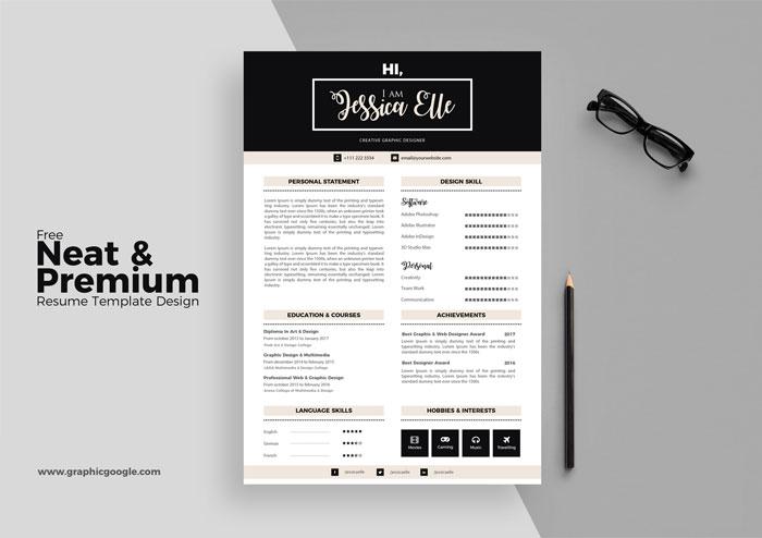 20 Creative  Simple Resume Templates For Designers - resume template designs
