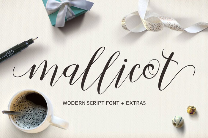 20 Fabulous Modern Calligraphy Script  Handwritten Brushed Fonts