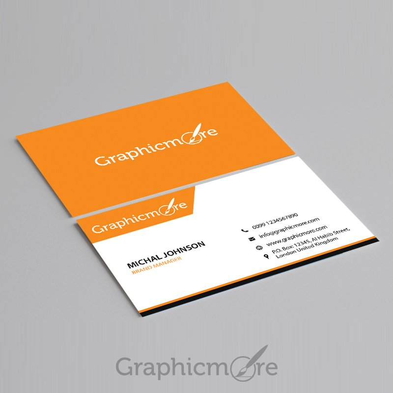 300+ Best Free Business Card PSD and Vector Templates - business card template