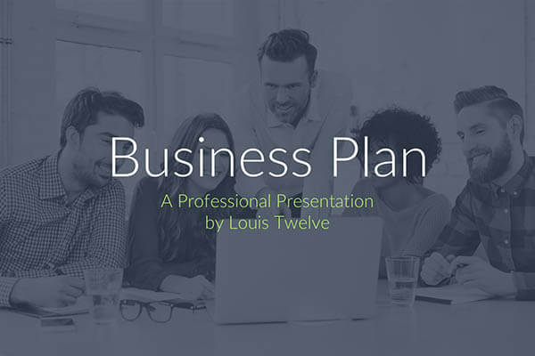 Free Keynote Templates - Business Plan Pitch Deck