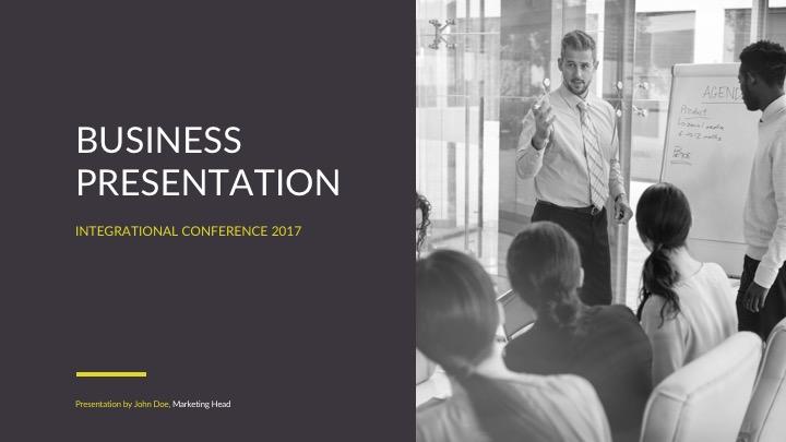 Free Business Powerpoint Templates - PPTX, Keynote, Google Slides