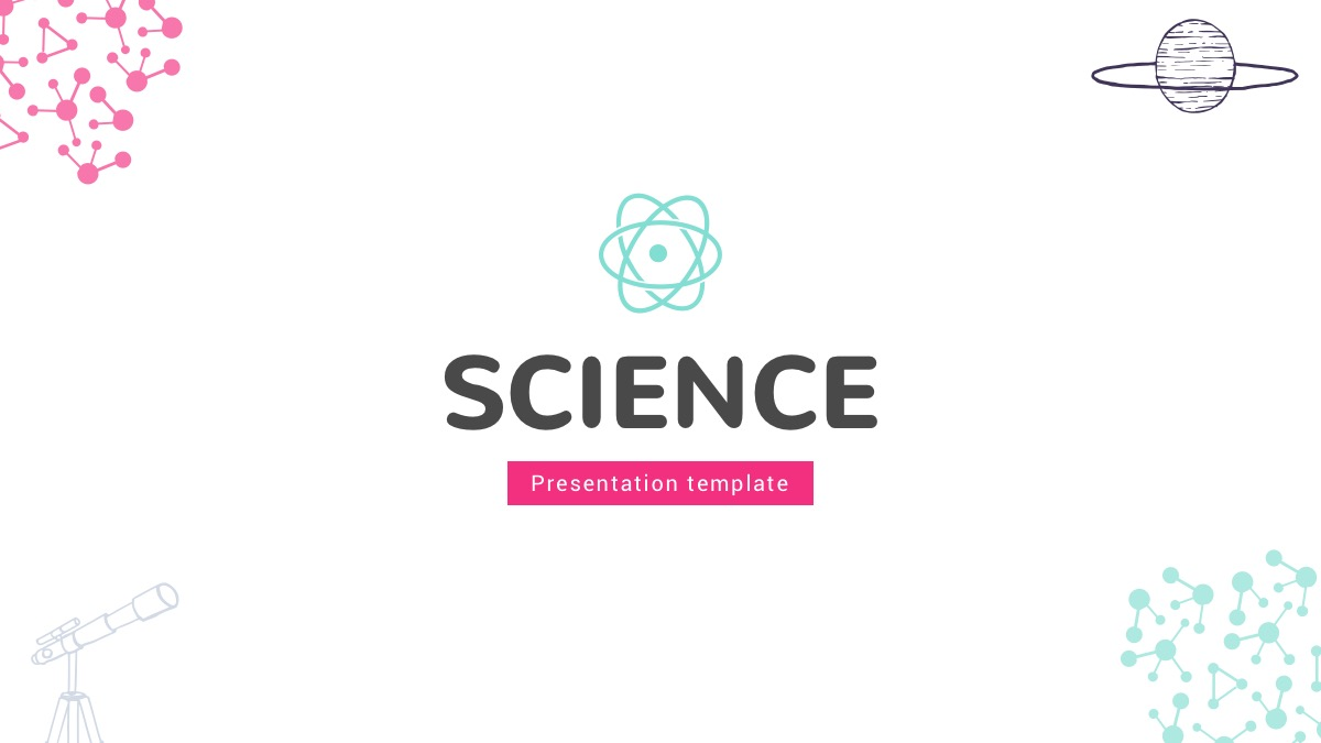 science presentation powerpoint template