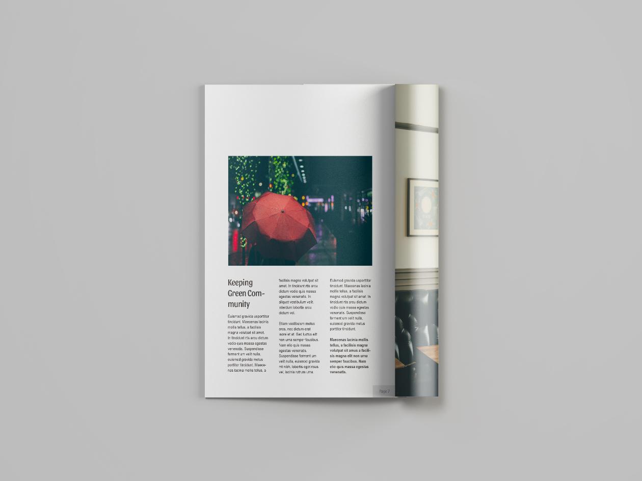 magazine resume template