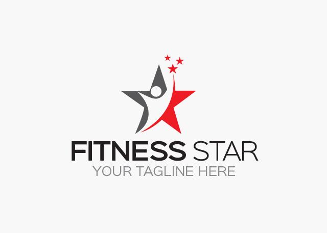 Fitness Star Logo - Graphic Pick