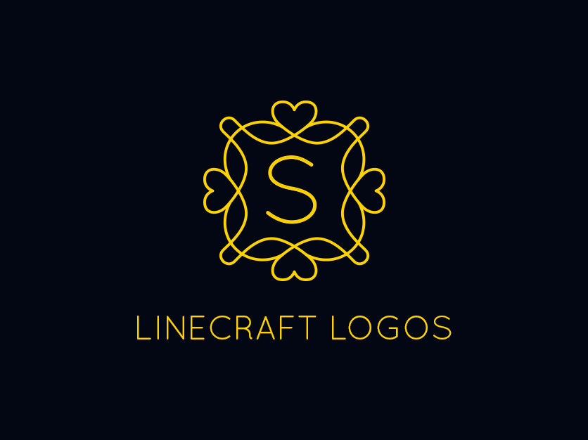 9 Linecraft Beauty and Boutique Logos - Graphic Pick