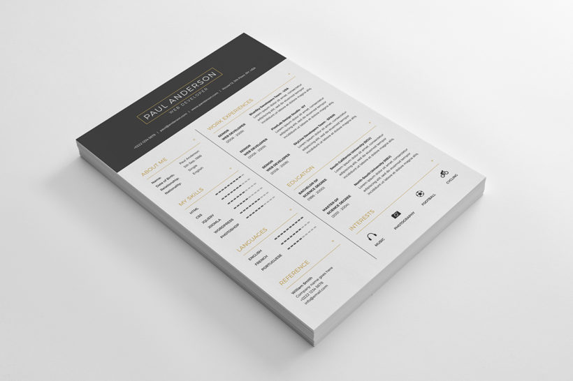 Free Resume with Business Card - resume business cards