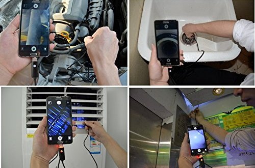 Get Video and Photos From Tight Spaces With Endoscope