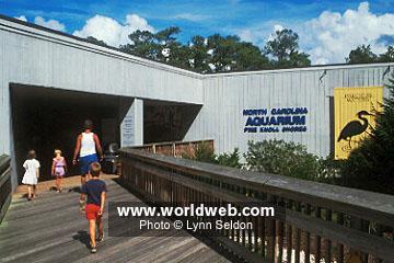 WorldWeb.com Photo: North Carolina Aquarium in Pine Knoll Shores