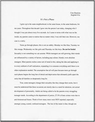 good common app essay examples
