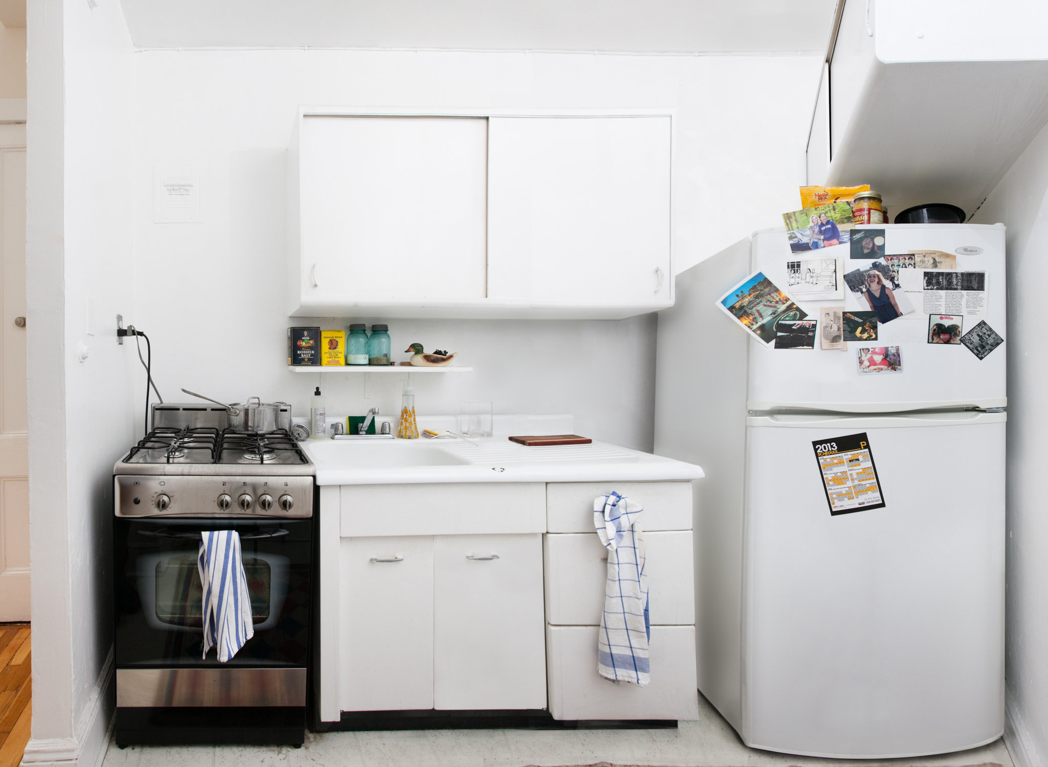 Super Small Kitchen In A Tiny Brooklyn Kitchen Room For Lots Of Ideas