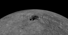 Some parts of Mercury never see heat. These are the parts where ice has formed.
