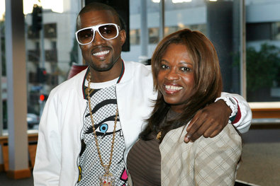 Mr. West with his mother, Donda West, in 2007, the year she died.