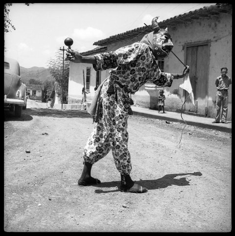 Los Diablos de Yare. San Francisco de Yare, Estado Miranda, Venezuela. 1951.