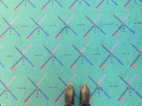 In Portland, It's Curtains for an Airport Carpet - The New ...