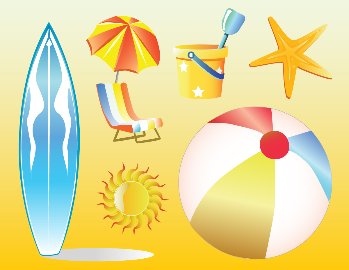 Beach party clip art related keywords amp suggestions
